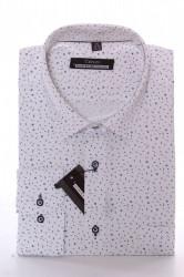 Pánska košeľa VZOR 3. CENZO CLASSIC - biela