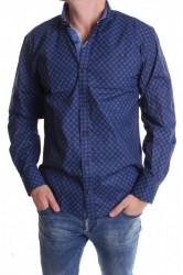 Pánska košeľa VZOR 3. - modrá