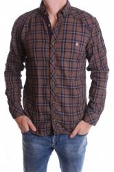 Pánska košeľa VZOR 4. - hnedá