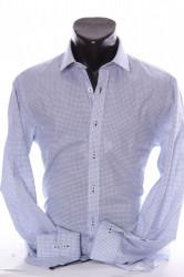 Pánska košeľa VZOR 5. PIERTRO MONTI SLIM (v. 176-182 cm) - modro-biela P17
