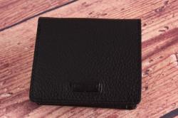 Pánska kožená peňaženka Bugatti 49312401 (9x1x10 cm) - čierna