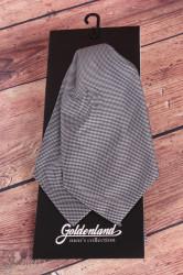 Pánska kravata ASCOT - čierno-biela