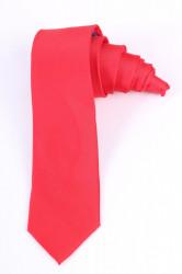 Pánska kravata (š. 6 cm) - červená
