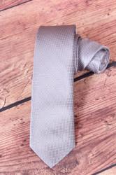 Pánska kravata VZOR 1. - sivá (š. 6 cm)