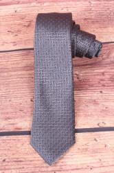Pánska kravata vzorovaná - sivá