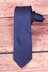 Pánska kravata vzorovaná - tmavomodrá (š. 6 cm)