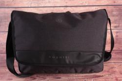 Pánska messenger taška Bugatti 49393201 (39x9,5x28 cm) - čierna