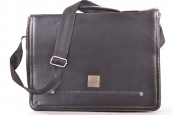 Pánska taška cez plece (36x26x7 cm) - čierna č. 2