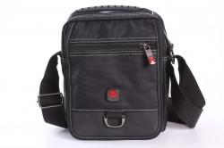 Pánska taška na plece STARDRAGON (6372-1) - čierna (18x22x11 cm)
