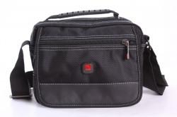 Pánska taška na plece STARDRAGON (6379-1) - čierna (18x22x11 cm)