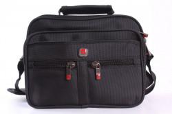 Pánska taška na plece STARDRAGON (X985) - čierna (21x25x8 cm)