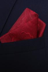 Pánska vreckovka do obleku vzorovaná VZOR 10. (28x28 cm)