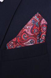 Pánska vreckovka do obleku vzorovaná VZOR 8. (28x28 cm)