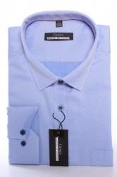 Pánska vzorovaná košeľa MARTEX CLASSIC - modro-fialová