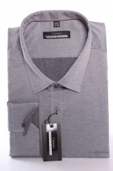 Pánska vzorovaná košeľa MARTEX CLASSIC - sivá