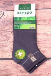 Pánske bambusové členkové ponožky FFD1951 - sivé