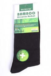 Pánske bambusové ponožky (FF9191) - čierne