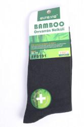 Pánske bambusové ponožky (FF9191) - tmavozelené