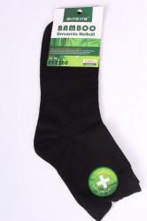 Pánske bambusové ponožky (FFZ360) - čierne
