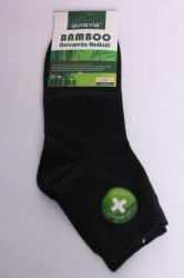 Pánske bambusové ponožky (FFZ360) - tmavozelené