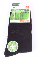 Pánske bambusové THERMO ponožky (FFV1360) - čierne