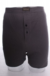 Pánske bavlnené boxerky nadmerné  (HZ004A - sivé