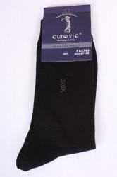 Pánske bavlnené ponožky (FX4749) - čierne