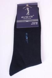 Pánske bavlnené ponožky (FX4749) - tmavomodré