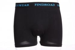Pánske boxerky bambusové FINDROAD (H7031) - čierne