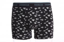Pánske boxerky FINDROAD (H7132) - čierne