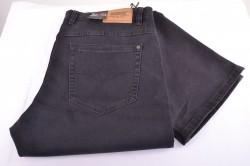 Pánske elastické nohavice DOCKHOUSE 1037A-7 - hnedosivé