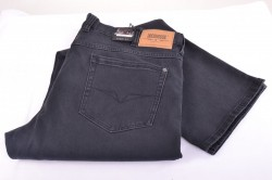 Pánske elastické nohavice DOCKHOUSE - 1065A - sivé