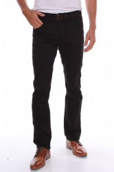 Pánske elastické športové nohavice M.SARA (K2983-13) - čierne