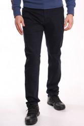 Pánske elastické športovo-elegantné nohavice DOCKHOUSE SLIM (D16B-2) - tmavomodré