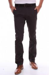 Pánske elastické športovo-elegantné nohavice M.SARA (KD106-60) - čierne