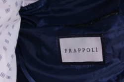Pánske elastické športovo-elegantné sako SLIM FIT (3587) - modré #1