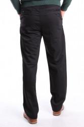 Pánske nadmerne športovo-elegantné nohavice (63) NEW JARSIN - čierne #1