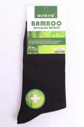 Pánske ponožky bambusové (43-46) - čierne