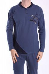 Pánske pyžamo VZOR 0017 - modré