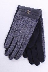 Pánske rukavice (A91) melírované - modré