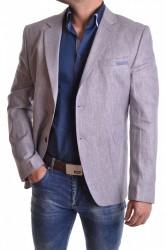 Pánske sako VZOR 636 - modro-sivé