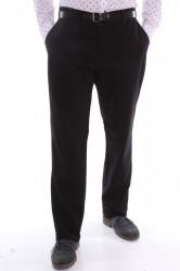 Pánske športovo-elegantné nohavice (253) VETRINA - čierne