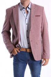 Pánske športovo-elegantné sako MODEL 474 - bordové