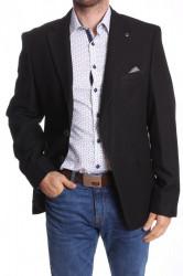 Pánske športovo-elegantné sako nadmerné MODEL 3724 - čierne