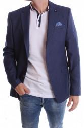 Pánske športovo-elegantné sako VZOR 3292 - modré