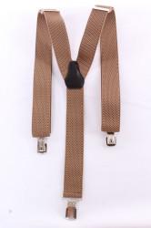 Pánske traky (3,5 cm) - khaky zelené 2.