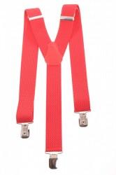 Pánske traky - červené