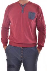Pánske tričko - bordové P2