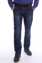 Pánske zateplené elastické rifľové nohavice LONGLI (LF247)