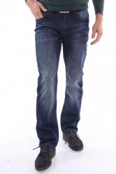 Pánske zateplené rifľové nohavice DOCKHOUSE (D6015-1) - modré